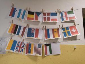 Obiskovalci so prihajali iz številnih držav