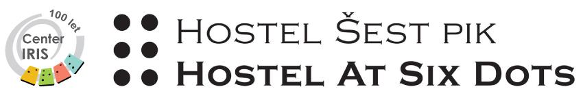 Hostel Šest pik logo